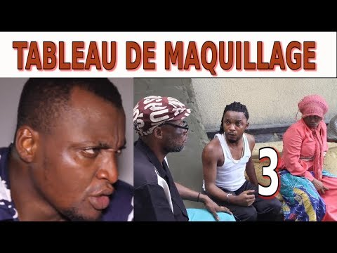 TABLEAU DE MAQUILLAGE Ep 3 Theatre Congolais avec Ada,Buyibuyi,Vue de Loin,Moseka,Barcelon