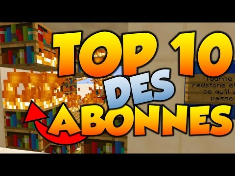 LES 10 MEILLEURS PIEGE MINECRAFT - TOP 10 DES ABONNES