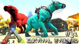 ark survival evolved alpha chalicotherium taming e31 modded ark center gameplay