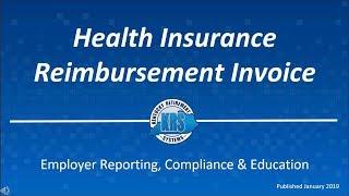 KRS Employer Invoice Series Videos – Health Insurance Reimbursement