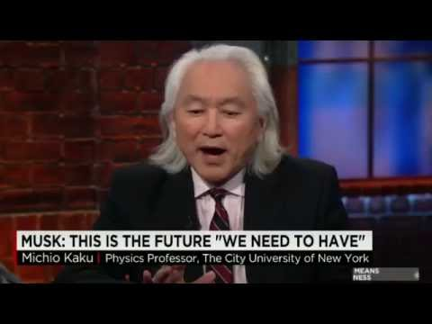 Michio Kaku - Musk & Game Changing Tesla Powerwall Battery