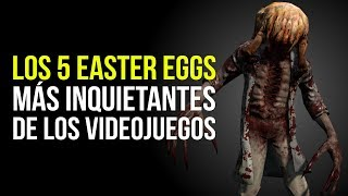 Los 5 EASTER EGGS MÁS INQUIETANTES de los videojuegos