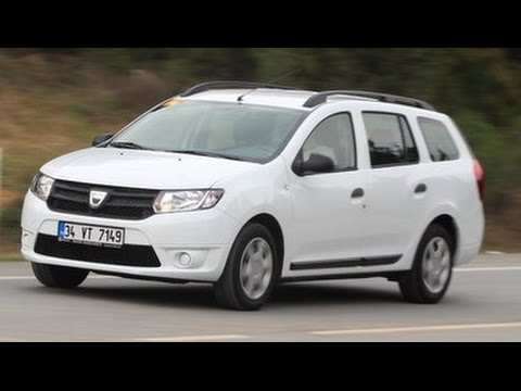 test dacia logan mcv youtube. Black Bedroom Furniture Sets. Home Design Ideas