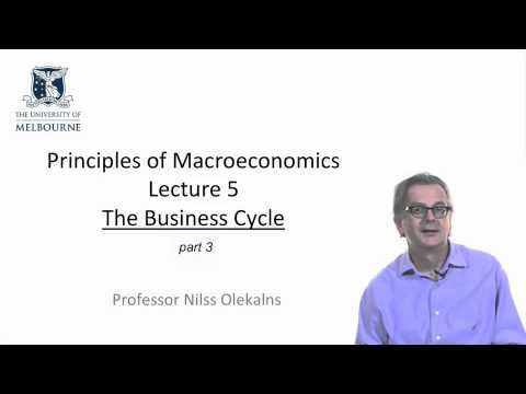 Week 4 Part 1 of 2 Macroeconomics and the Business Cycle
