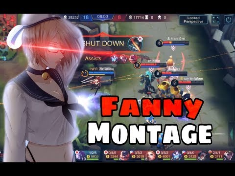 FANNY FREESTYLE • Fanny Montage #01 • Kimochi | Mobile Legends