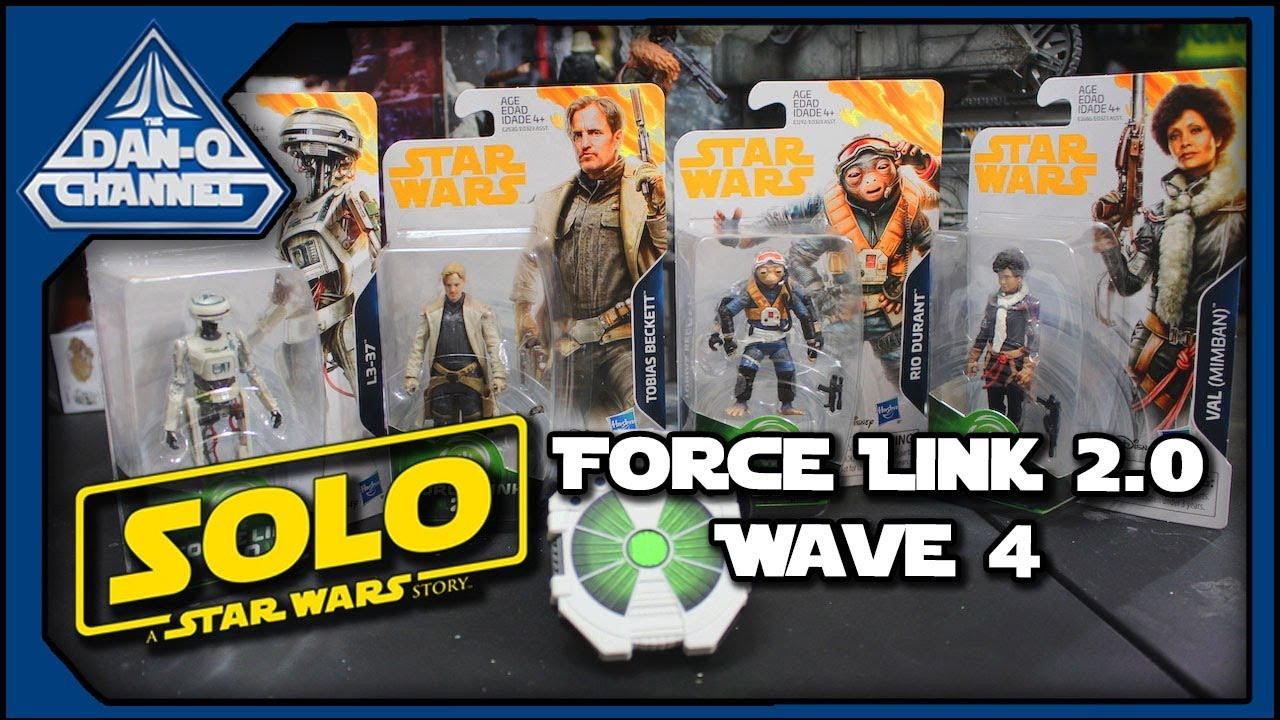 FORCE LINK STAR WARS FINN AGES4+ BNIB