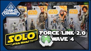 Star Wars Force Link 2.0 Wave 4 figures from Solo | Beckett Rio L337 & Val