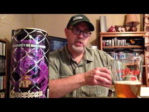 The Beer Review Guy # 103 American Pitt High Gravity Ice Malt Liquor 10.2% alc by vol