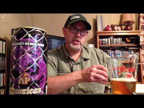 The Beer Review Guy # 103 American Pitt High Gravity Ice Malt Liquor 10.2% alc by vol