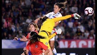 Estados Unidos 3 - 0 Chile  | Amistoso 2018 | Partido 1 | Fútbol Femenino |