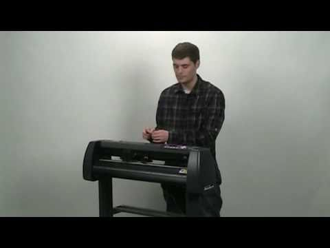 Setup and Installation of the MH Series Vinyl Cutter - YouTube