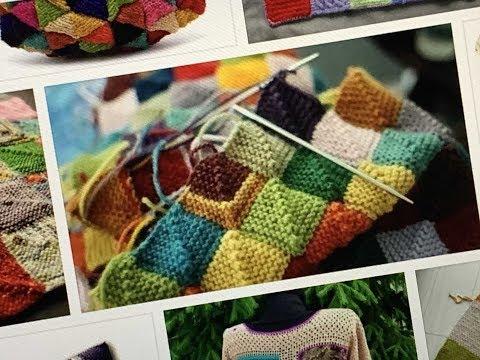 ПЭЧВОРК -- новые виды вязания ✨ ИНТАРСИЯ✨ интересные модели
