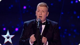 Gruffydd gives everyone goosebumps with PERFECT performance! | The Final | BGT 2018