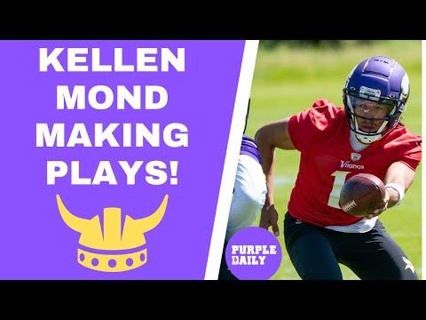 Kellen Mond observations from Minnesota Vikings minicamp