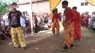 Atraksi Kungfu Barongsai - Burok Dangdut KJM (Krisna Jaya Muda) Live Sumber Kidul