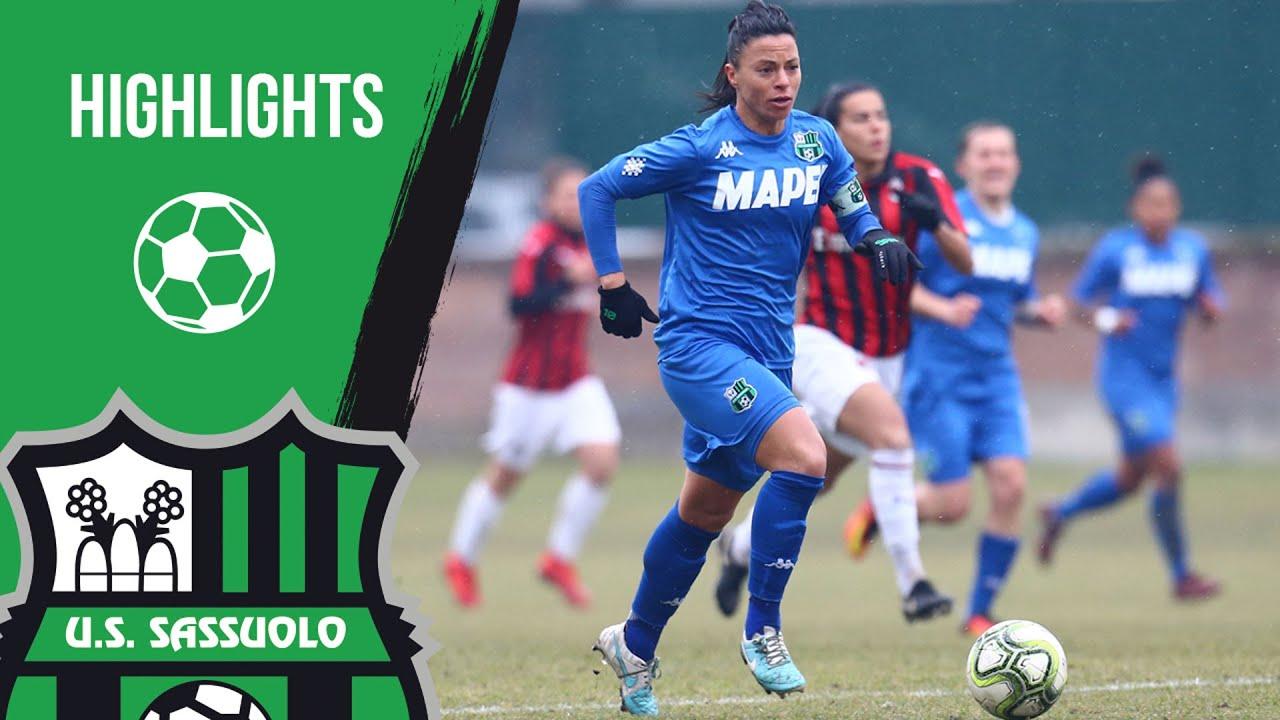 Coppa Italia: Sassuolo-Milan Femminile 0-2