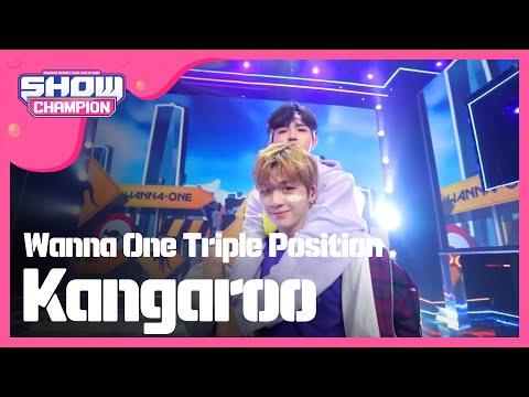 Show Champion EP Wanna One TriplePosition - Kangaroo
