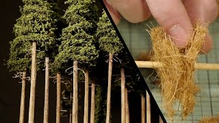 Tall Forest Pine Trees – Model Railroad Scenery