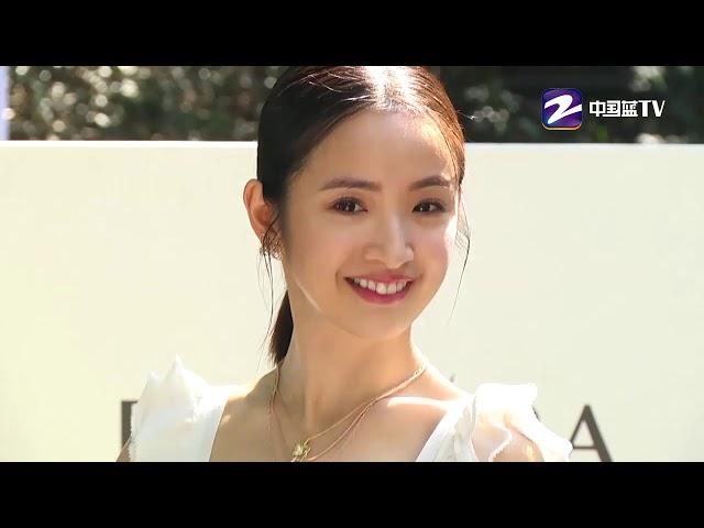 林依晨白色纱裙如仙女 分享老公趣事希望变浪漫【综艺风向标】
