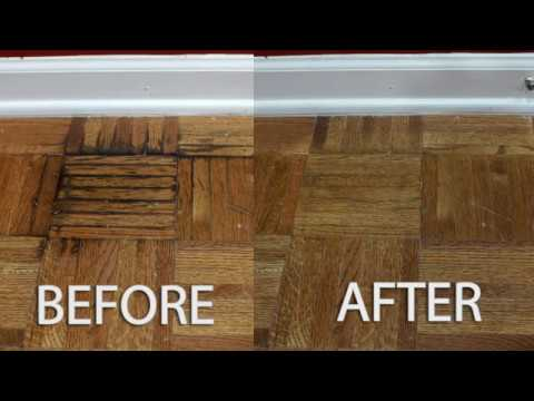 Pet Urine Stains From Hardwood Floor