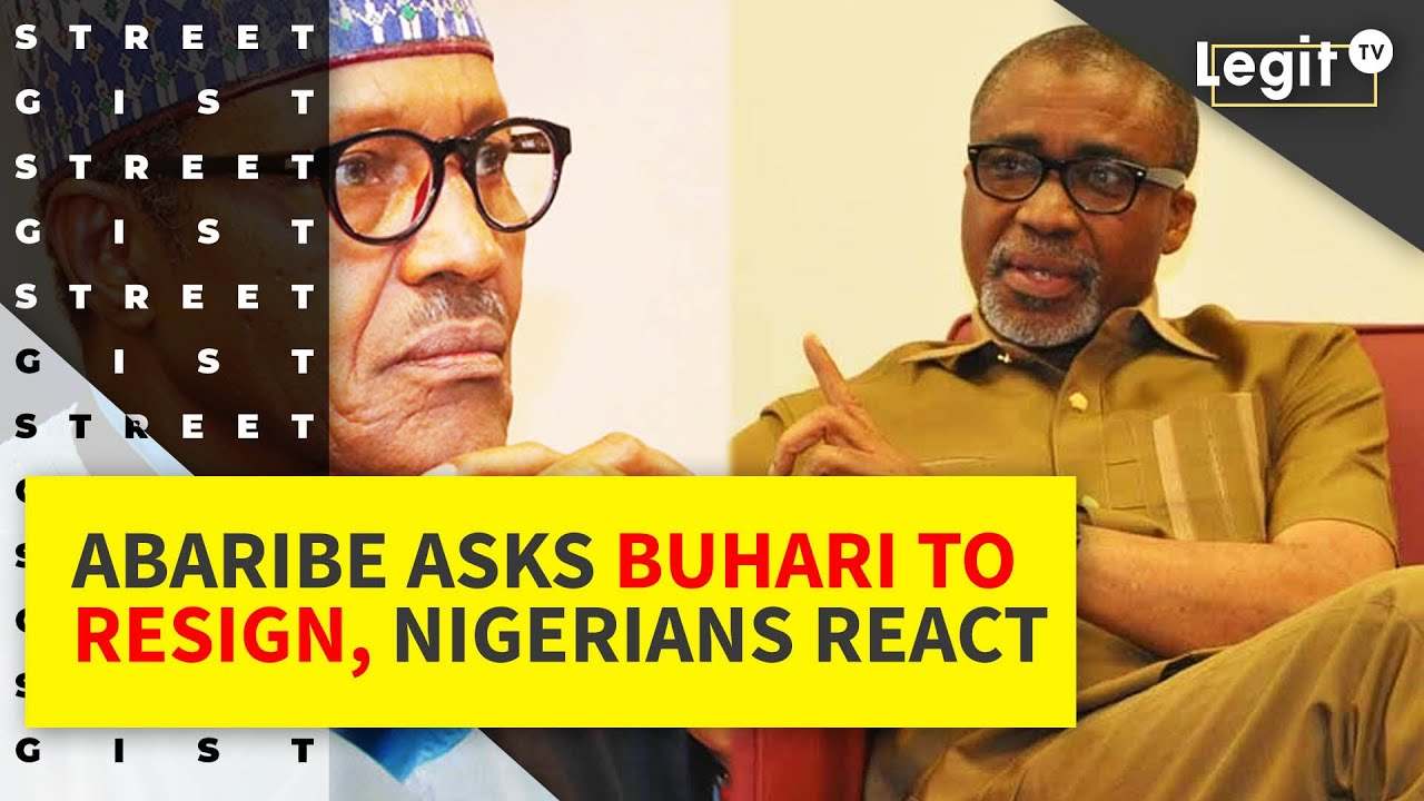 Abaribe asks President Buhari to resign, Nigerians react | Legit TV