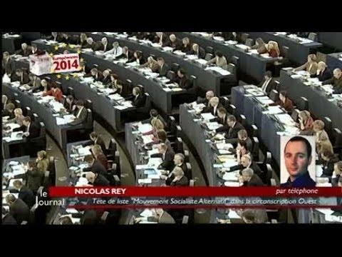 Européennes : Nicolas Rey, Mouvement Socialiste Alternatif