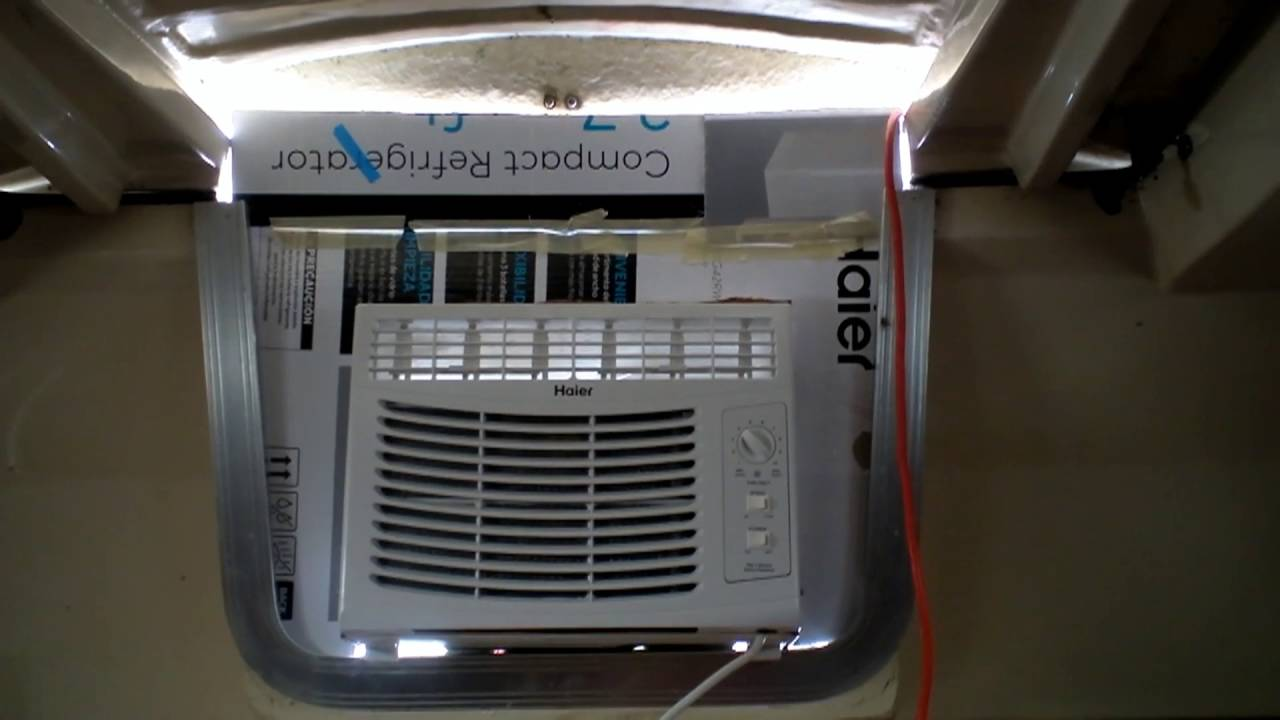 Easy Window Air Conditioner Install For Live Aboard