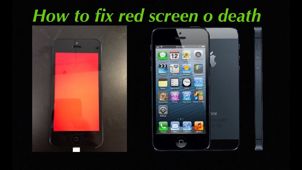 iphone red screen how to fix iphone screen or boot text issues 7467