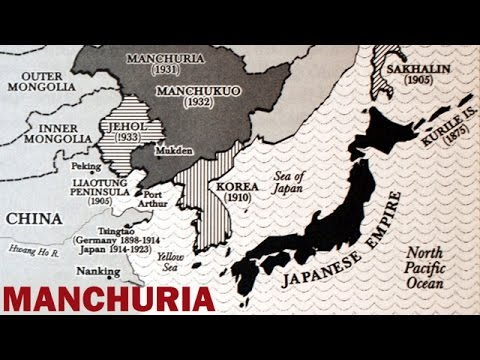 Manchuria Under Japanese Rule | Manchukuo | Documentary Film | ca. 1937