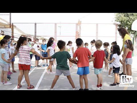 VÍDEO: 300 niños por quincena toman parte en la Ludoteca de Verano de Lucena