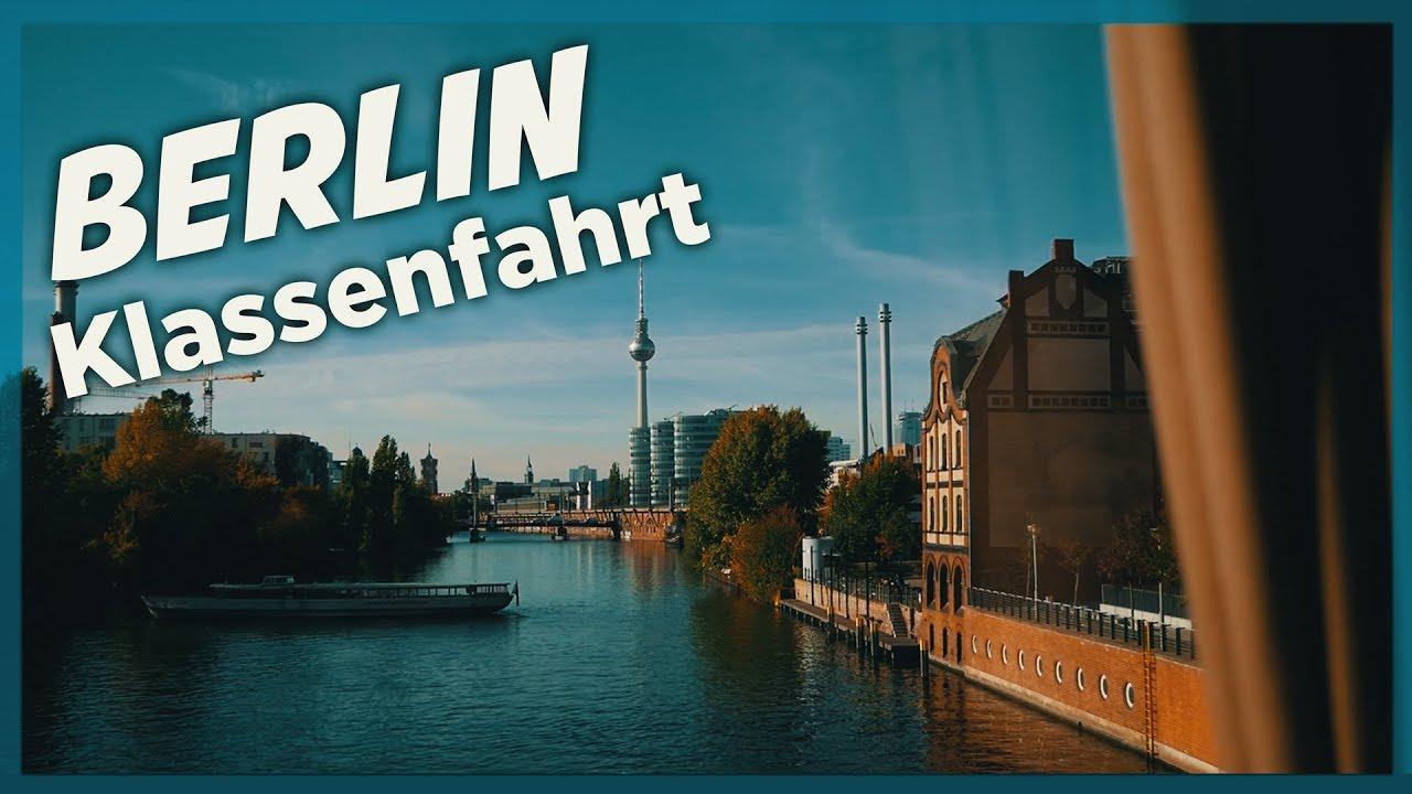 Abschlussfahrt nach Berlin | Vlogging Deutsch | Samuel