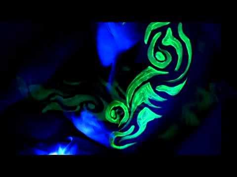 Нокстон - светящаяся краска от производителя - YouTube