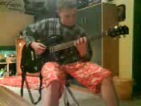 Steven Schwenn mit e-gitarre.3gp