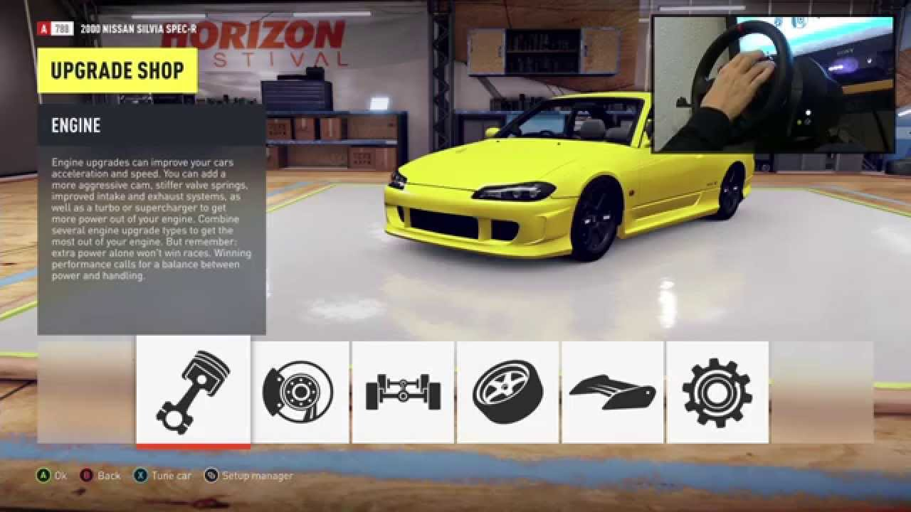 Forza Horizon 2: Drift Build   Nissan Silvia S15 (Onboard Camera)