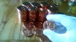 My Copper Bullion Stack - Something a bit different to Silver!