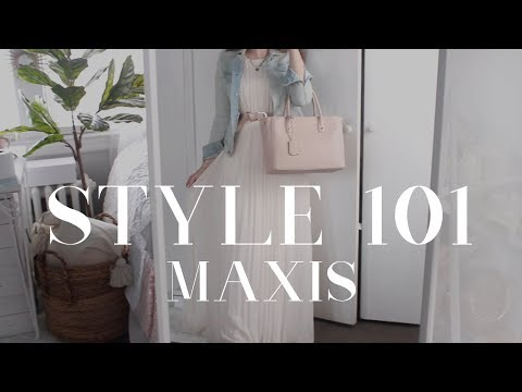 HOW TO STYLE 101+ MODEST LOOKBOOK: MAXI DRESSES AND SKIRTS
