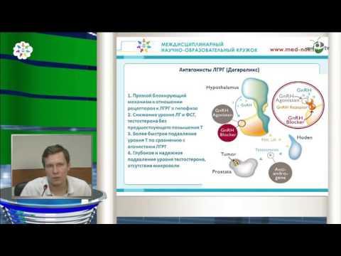 Печеркин А А - Гормональное лечение рака предстательной железы
