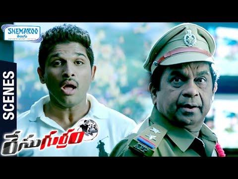 Brahmanandam Hilarious Entry as KILL BILL PANDEY | Race Gurram Telugu Movie Scenes | Allu Arjun