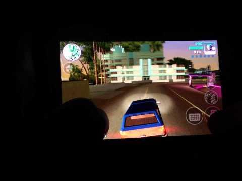 GTA Vice City Galaxy S Advance. Демонстрация.