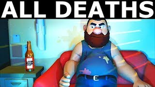 Suicide Guy - All Deaths & All Level Endings