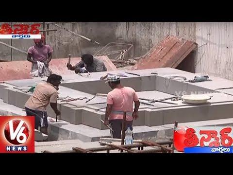 Telangana Govt Speedup Yadadri Temple City Development Works | Teenmaar News | V6 News