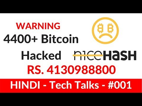 Bitcoin HACKED? Nicehash HACKED?! $56.000.000 Bitcoin Stolen (4400+ BTC) #CONFIRMED - TechTalks-0001