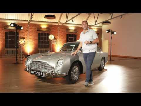 007 For A Few Miles James Bond S Aston Martin Db5 Goldfinger Car Test Drive Video Review Youtube