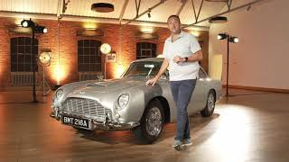 007 for a few miles: James Bond's Aston Martin DB5 Goldfinger Car -  Test Drive Video Review