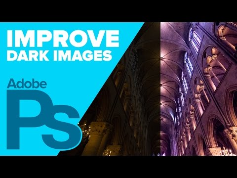 How To Dramatically Improve Dark Images In Photoshop (4K)