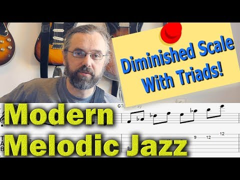 Triads of the Diminished scale - part 1