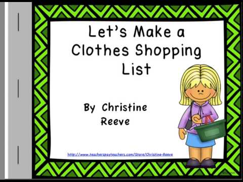 Adapted Vocabulary Books For Autism: Clothing Words