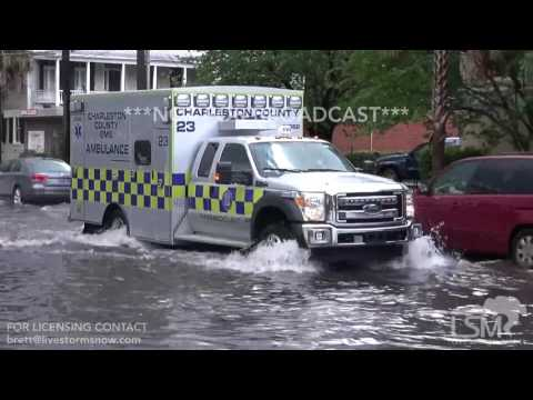 4-24-17 Charleston, SC Significant Flooding