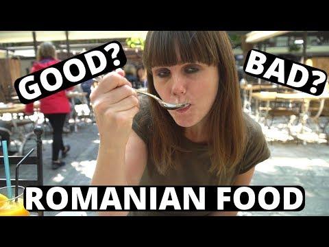 ROMANIAN FOOD TOUR!!! Is Romanian Food GOOD?? Bucharest, Romania.
