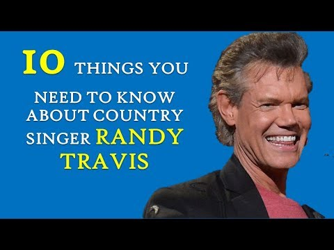 Randy Travis | 10 Things You Need To Know About This Grammy Award Winner Country Music Singer